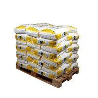 Palette sel en pastilles rondes 40 x 25 kg sacs