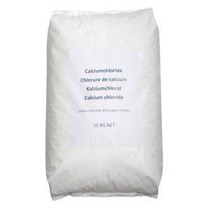 Calciumchloride zak 25 kg