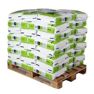 Pallet granulair zout 40 zakken 25 kg