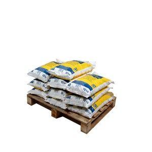 Pallet ronde zouttabletten 10 zakken 10 kg