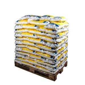 Pallet ronde zouttabletten 100 zakken 10 kg