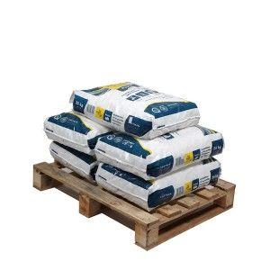 Pallet ronde zouttabletten 5 zakken 25 kg