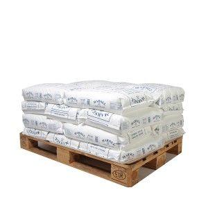 Pallet middelgrof zeezout 20 zakken