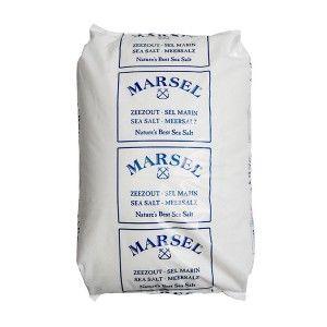 Fijn zeezout zak 25 kg